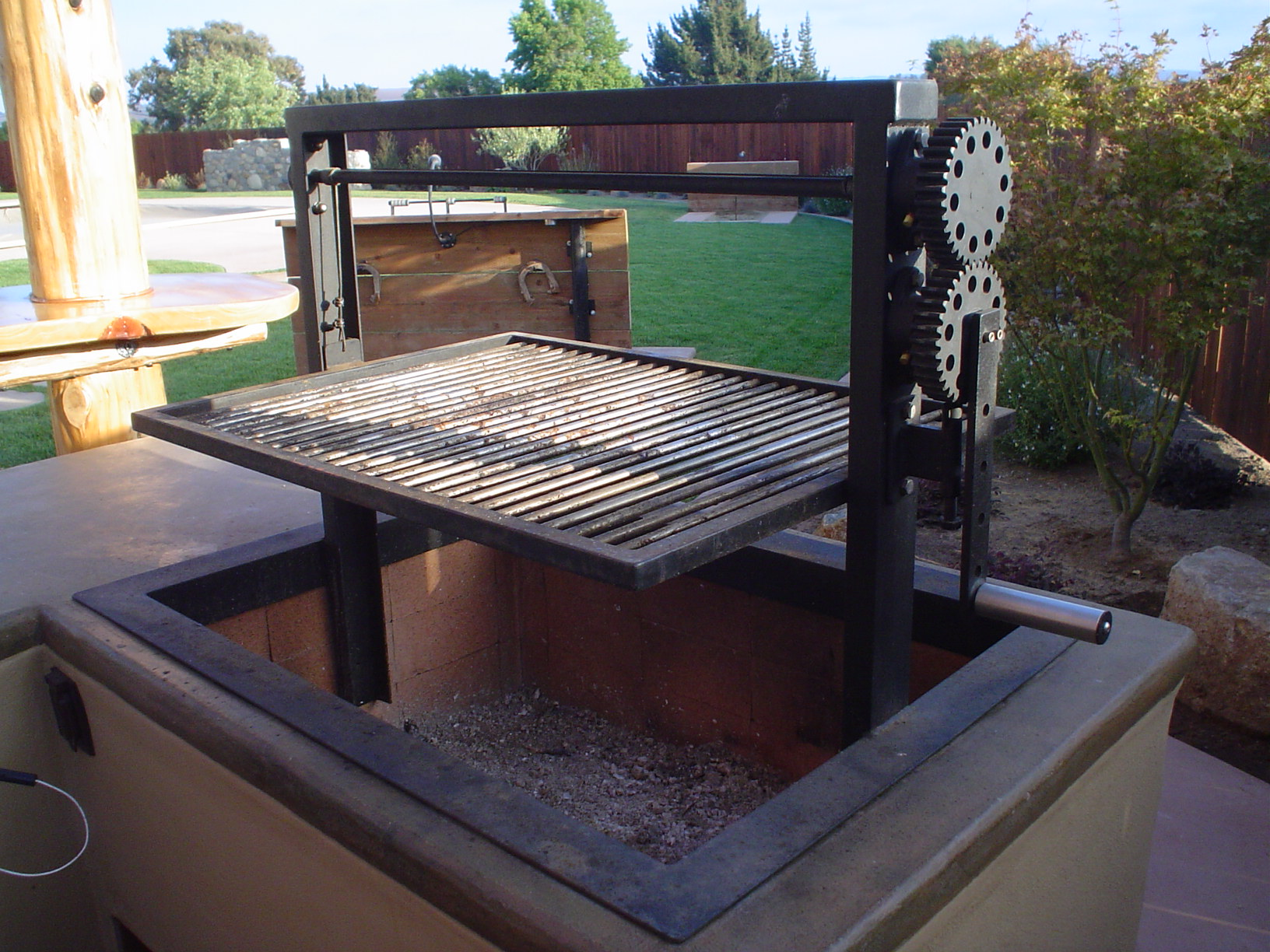 1000 images about bbq grills on pinterest santa maria for Bbq grill designs and plans